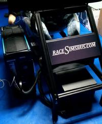 Black Race Simulator Chassis